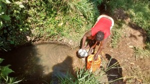 The Water Project : 3-kenya4585-unprotected-spring