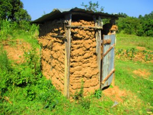The Water Project : 6-kenya4585-latrine