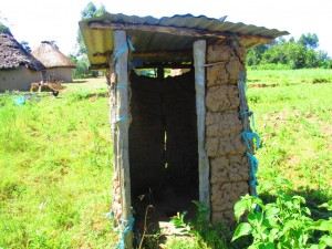 The Water Project : 7-kenya4585-latrine