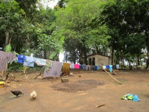 The Water Project : 8-sierraleone5091-clothesline