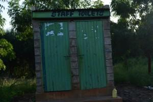 The Water Project : 12-kenya4503-staff-latrines