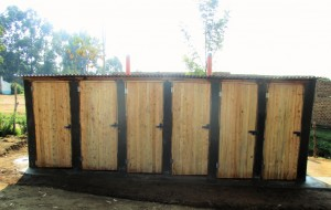 The Water Project : 15-kenya4615-finished-latrines