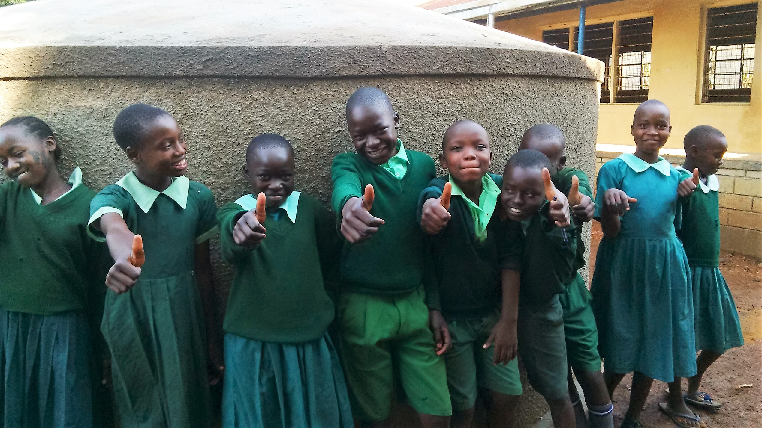 Matende Primary School Rainwater Catchment Project