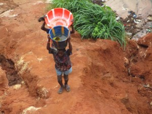The Water Project : 2-sierraleone5090-carrying-water