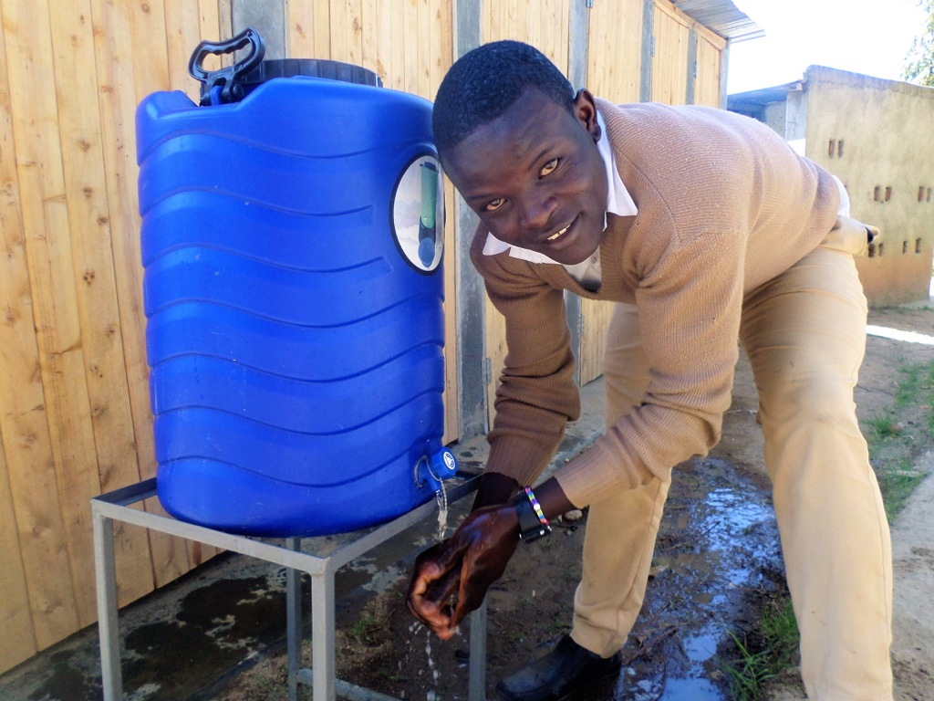 Ebwambwa Secondary School Rainwater Catchment Project