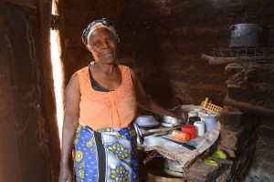 The Water Project : 5-kenya4472-jeniffer-in-her-kitchen