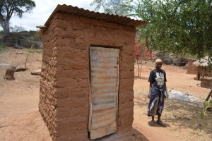 The Water Project : 6-kenya4473-latrine