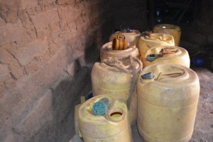 The Water Project : 8-kenya4473-water-containers