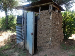 The Water Project : 8-kenya4584-latrine