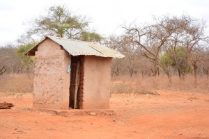 The Water Project : 9-kenya4498-latrine