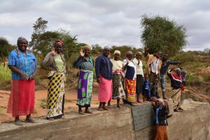 The Water Project : 18-kenya4472-finished-sand-dam