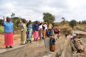 The Water Project : 19-kenya4472-finished-sand-dam