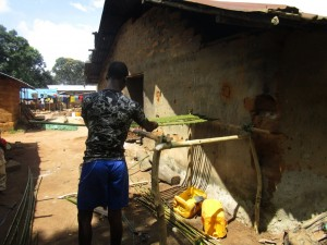 The Water Project : 20-sierraleone5091-building-dish-rack