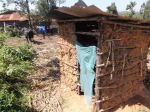 The Water Project : 5-kenya4588-latrine