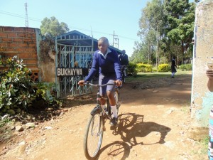 The Water Project : 5-kenya4624-student-on-bike