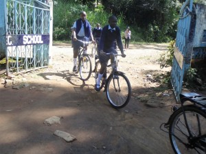 The Water Project : 6-kenya4624-students-on-bikes