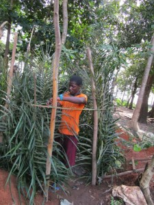 The Water Project : 6-sierraleone5091-building-bathing-rooms