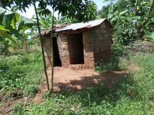 The Water Project : 6-uganda6066-latrine