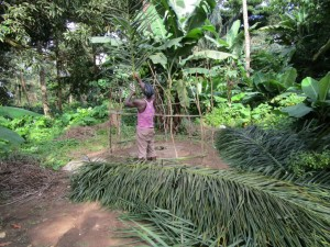 The Water Project : 7-sierraleone5091-building-a-latrine