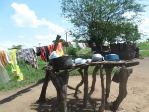 The Water Project : 9-uganda6068-dish-rack