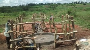 The Water Project : 1-uganda6066-well-pad