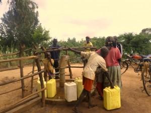 The Water Project : 1-uganda6073-faraway-hand-dug-well