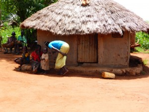 The Water Project : 1-ugandan-home-example