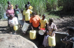The Water Project : 10-kenya4584-protected-spring