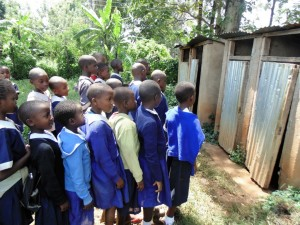 The Water Project : 10-kenya4629-line-for-latrines