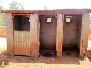 The Water Project : 10-kenya4630-latrines