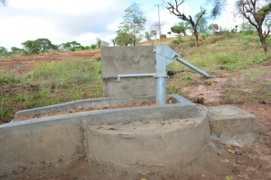 The Water Project : 11-kenya4496-finished-well