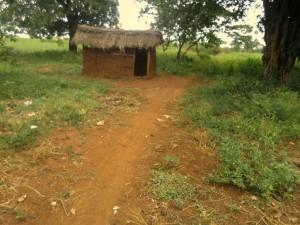 The Water Project : 11-uganda6073-latrine