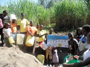 The Water Project : 12-kenya4584-protected-spring