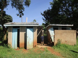 The Water Project : 12-kenya4631-latrines