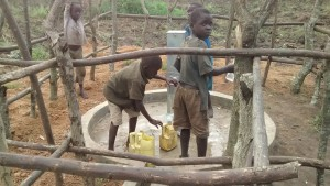 The Water Project : 13-uganda6068-fetching-water