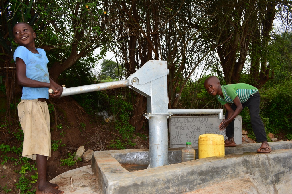 Musunguu New Well Project