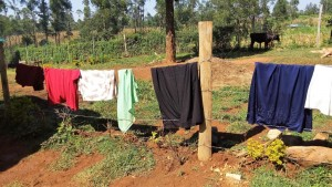 The Water Project : 15-kenya4590-clothesline
