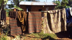 The Water Project : 16-kenya4590-clothesline