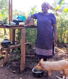 The Water Project : 17-kenya4590-dish-rack