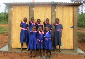 The Water Project : 17-kenya4623-finished-latrines