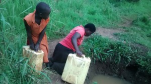 The Water Project : 2-uganda6072-fetching-water