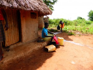 The Water Project : 2-ugandan-home-example