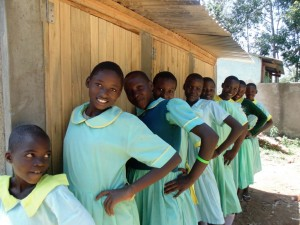 The Water Project : 25-kenya4625-finished-latrines