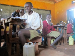 The Water Project : 3-kenya4630-students