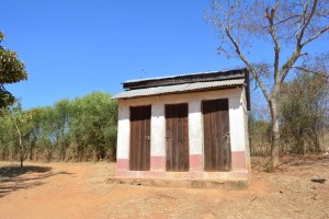 The Water Project : 4-kenya4497-latrines