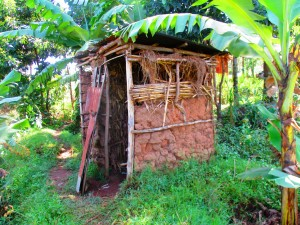 The Water Project : 6-kenya4589-latrine