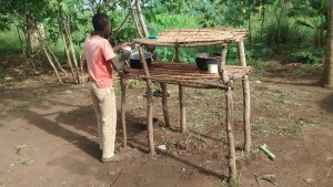 The Water Project : 6-uganda6066-well-caretakers-home