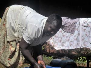 The Water Project : 8-kenya4592-washing
