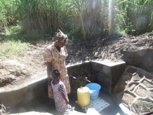 The Water Project : 9-kenya4584-protected-spring