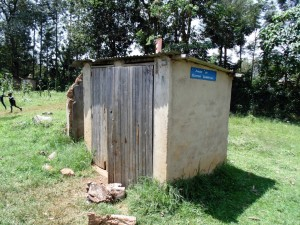 The Water Project : 9-kenya4629-latrines